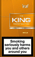 King Gold Cigarettes pack