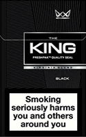 King Black Cigarettes pack
