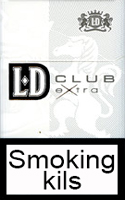 LD Extra Club Silver Cigarettes pack