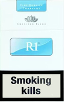 R1 Blue Cigarettes pack