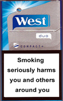 West duo compact+ Cigarettes pack