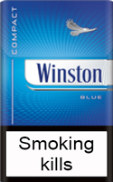 Winston Compact Blue Cigarettes pack