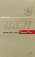 Benson & Hedges Special Filter Cigarettes pack