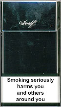 Davidoff Black Cigarettes pack