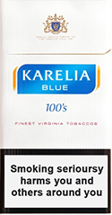 Karelia Blue 100s Cigarettes pack