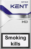 Kent HD Navy Blue 8 Cigarettes pack