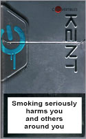 Kent Convertibles Cigarettes pack