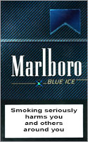Marlboro Blue Ice (Menthol) Cigarettes pack