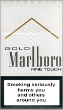 Marlboro Touch (light-blue) Cigarettes pack